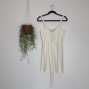 Reformation Dress SZ XS Missing Tag White Lace